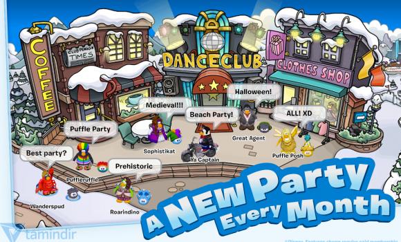 Club Penguin Ekran Görüntüleri - 3