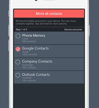 Contacts Optimizer Ekran Görüntüleri - 1