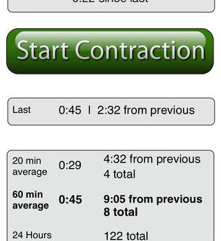 Contraction Timer Lite Ekran Görüntüleri - 4