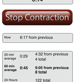 Contraction Timer Lite Ekran Görüntüleri - 3