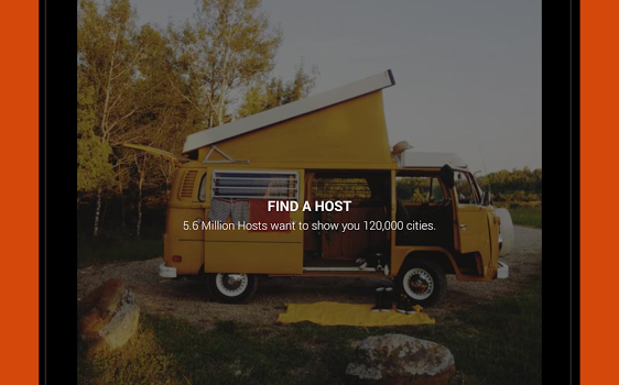 Couchsurfing Travel App Ekran Görüntüleri - 4