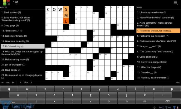 Crossword Puzzle Ekran Görüntüleri - 3