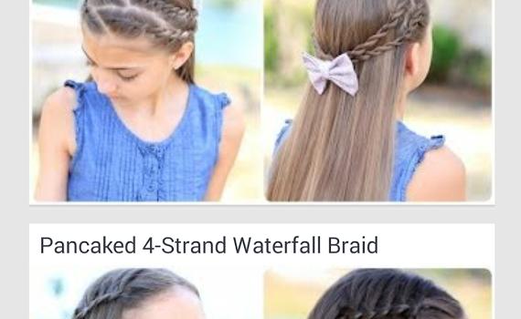 Cute Girls Hairstyles Ekran Görüntüleri - 4
