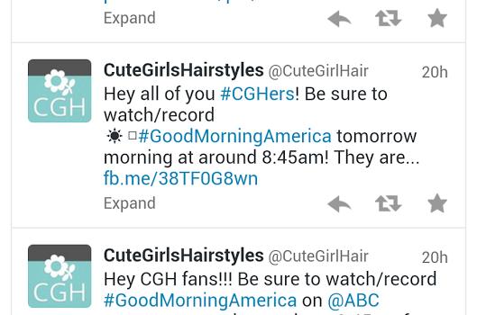 Cute Girls Hairstyles Ekran Görüntüleri - 1