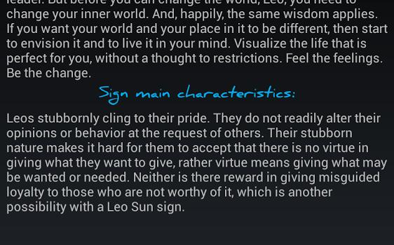 Daily Horoscope Ekran Görüntüleri - 3