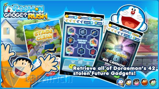 Doraemon Gadget Rush Ekran Görüntüleri - 3
