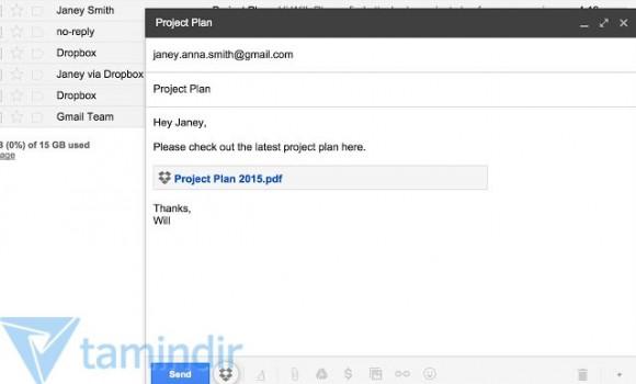 Dropbox for Gmail Ekran Görüntüleri - 5
