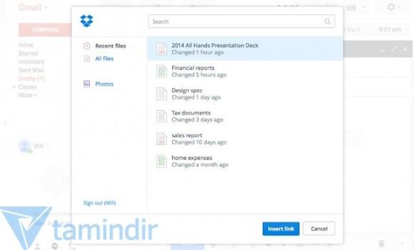 Dropbox for Gmail Ekran Görüntüleri - 4