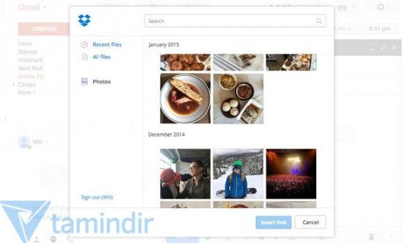 Dropbox for Gmail Ekran Görüntüleri - 2