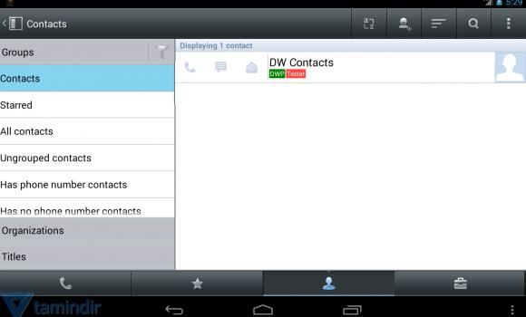 DW Contacts Ekran Görüntüleri - 4