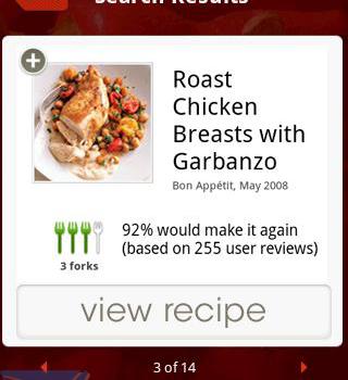Epicurious Recipe App Ekran Görüntüleri - 1