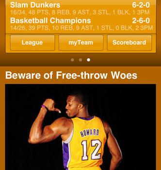 ESPN Fantasy Basketball Ekran Görüntüleri - 3