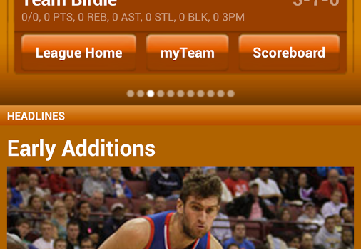 ESPN Fantasy Basketball Ekran Görüntüleri - 4