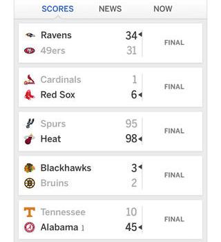 ESPN SportsCenter Ekran Görüntüleri - 5