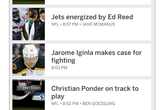 ESPN SportsCenter Ekran Görüntüleri - 2
