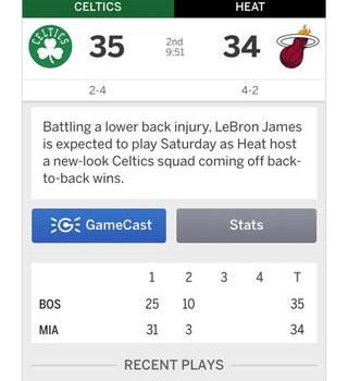 ESPN SportsCenter Ekran Görüntüleri - 1