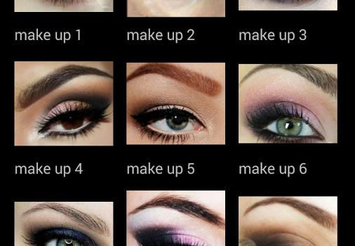 Eyes Makeup Step-by-Step Ekran Görüntüleri - 2