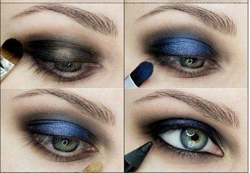 Eyes Makeup Step-by-Step Ekran Görüntüleri - 1