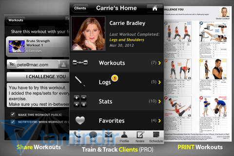 FitnessBuilder Ekran Görüntüleri - 1