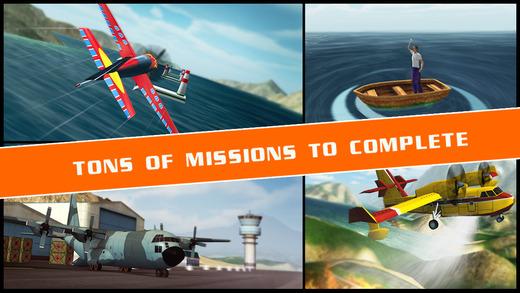 Flight Pilot Simulator Ekran Görüntüleri - 2