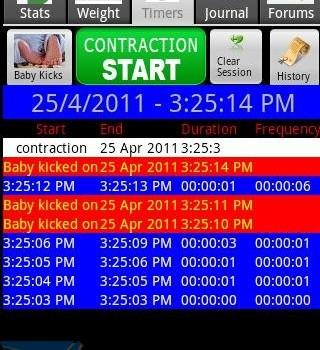 Happy Pregnancy Ticker Ekran Görüntüleri - 3