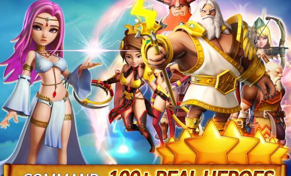 Hero Sky: Epic Guild Wars Ekran Görüntüleri - 1