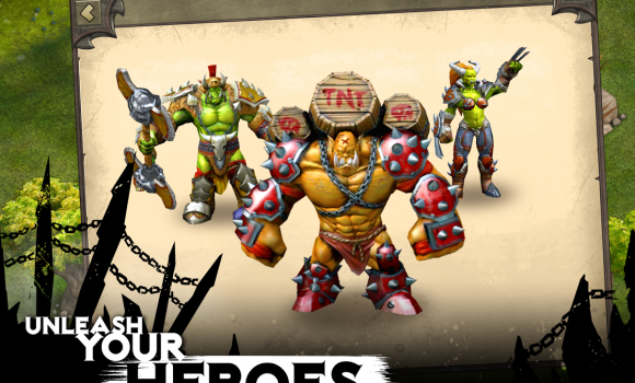 Heroes of War: Orcs vs Knights Ekran Görüntüleri - 3