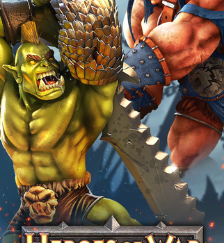Heroes of War: Orcs vs Knights Ekran Görüntüleri - 1