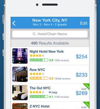 Hipmunk Hotels & Flights Ekran Görüntüleri - 4