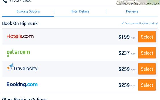 Hipmunk Hotels & Flights Ekran Görüntüleri - 3