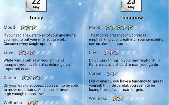 Horoscope Ekran Görüntüleri - 4