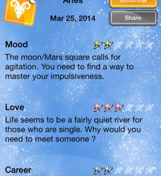 Horoscope Ekran Görüntüleri - 2
