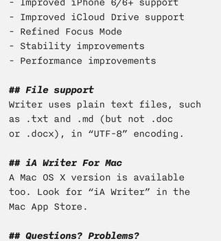 iA Writer Ekran Görüntüleri - 1