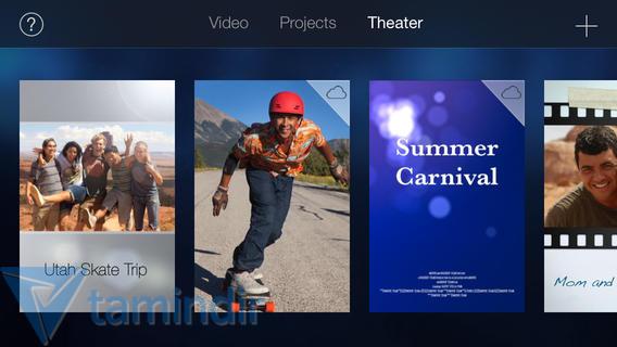 iMovie Ekran Görüntüleri - 1