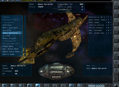Imperium Galactica 2 Ekran Görüntüleri - 5