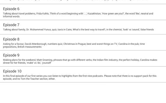 LearnEnglish Podcasts Ekran Görüntüleri - 4