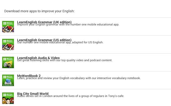 LearnEnglish Podcasts Ekran Görüntüleri - 1