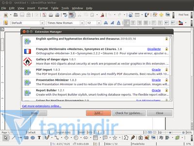 LibreOffice Ekran Görüntüleri - 5