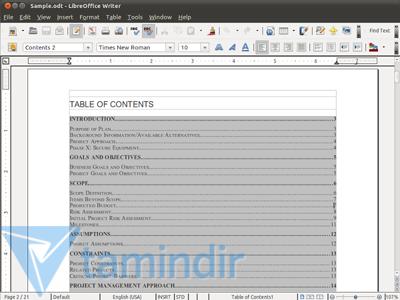 LibreOffice Ekran Görüntüleri - 4