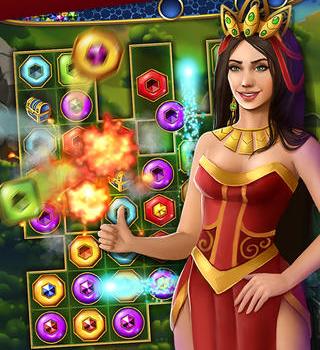 Lost Jewels - Match 3 Puzzle Ekran Görüntüleri - 5