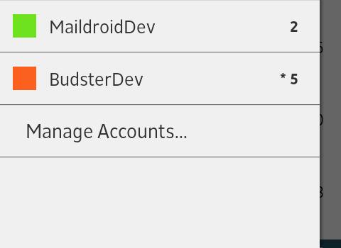 MailDroid Ekran Görüntüleri - 1
