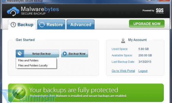 Malwarebytes Secure Backup Ekran Görüntüleri - 3