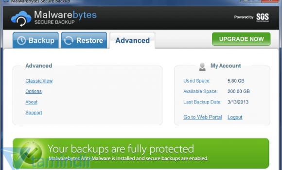 Malwarebytes Secure Backup Ekran Görüntüleri - 1