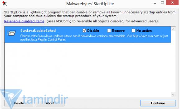 Malwarebytes StartUpLite Ekran Görüntüleri - 1