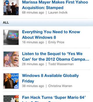 Mashable Ekran Görüntüleri - 3