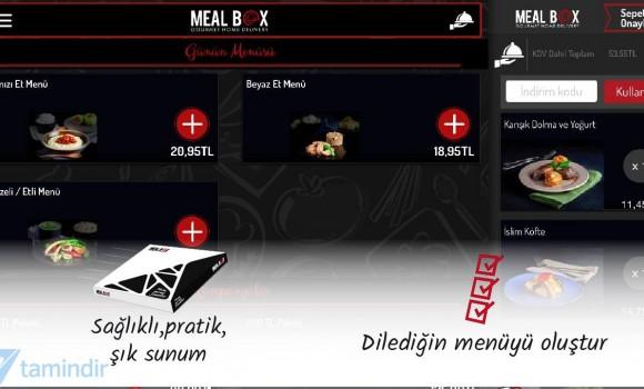Meal Box Ekran Görüntüleri - 1