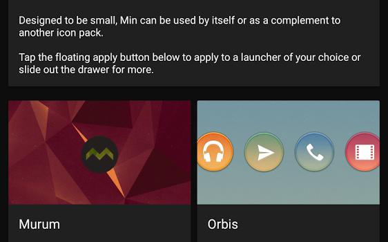 Min - Icon Pack Ekran Görüntüleri - 2