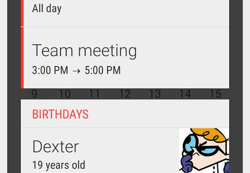 Month: Calendar Widget Ekran Görüntüleri - 1