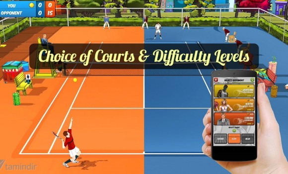 Motion Tennis Ekran Görüntüleri - 2