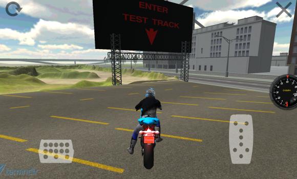 Motorbike Driving Simulator 3D Ekran Görüntüleri - 3